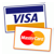 Credit Card Payment with Visa and Mastercard